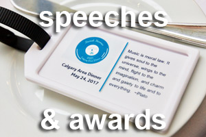 Speeches & Awards